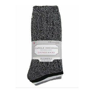Carole Hochman Lounge Socks, 4 Pairs